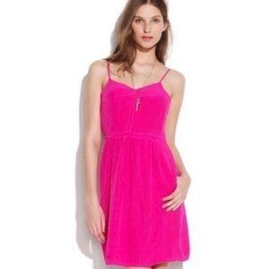 Madewell Broadway & Broome Neon Pink Dress